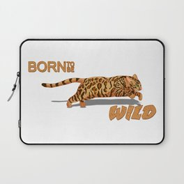 Born to be Bengal Laptop Sleeve