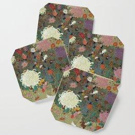 flower【Japanese painting】 Coaster