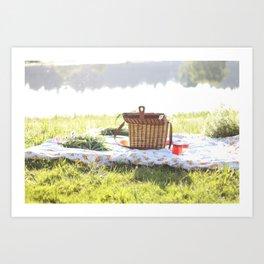 Summer Picnic Art Print
