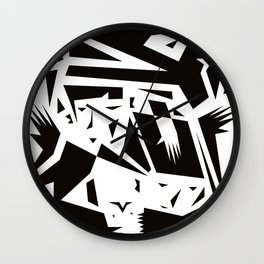 We Fought The Dragon Wall Clock