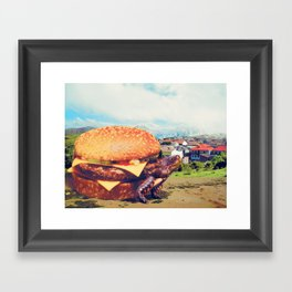 Con Queso Framed Art Print