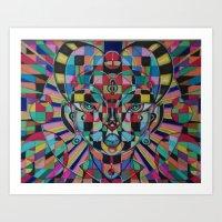 Ruby Spirit Art Print