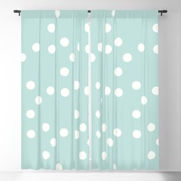 сhristmas tangerine || snow ed. Blackout Curtain