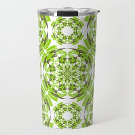 Fresh geometric pattern Travel Mug
