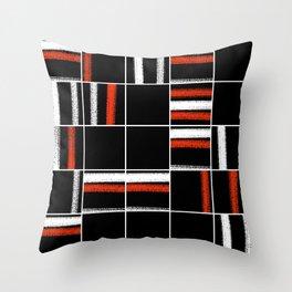 Zen tartan Throw Pillow