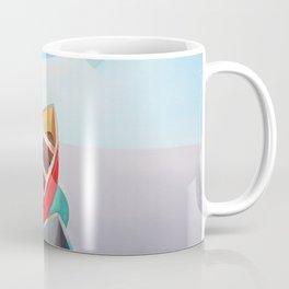 Five Boats Coffee Mug