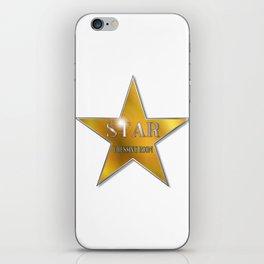 Star Dressing Room iPhone Skin