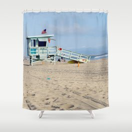 Venice Beach IV Shower Curtain