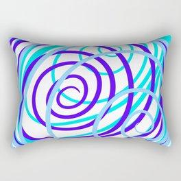 Around and around we go. Rectangular Pillow