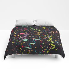 Wishes as Confetti / New Years Confetti. Comforters