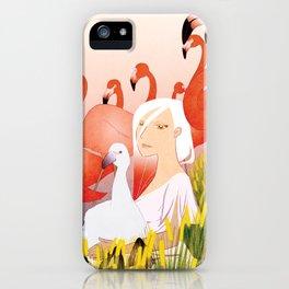 13 Flamencos iPhone Case