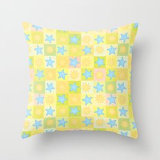Suns n' Stars Throw Pillow