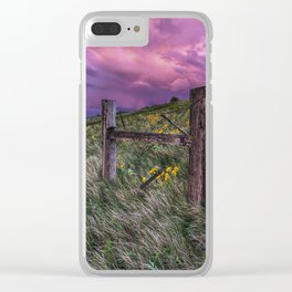 A world of Never Ending Happiness Clear iPhone Case