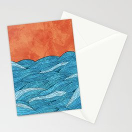The Blue Sea Stationery Cards