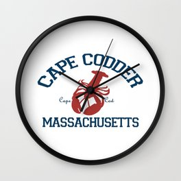 Cape Cod, MA Wall Clock