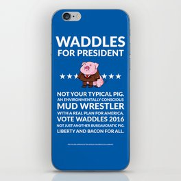 Waddles 2016 iPhone Skin