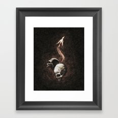 I Have Killed You So That You May Have Overflowing Life Framed Art Print