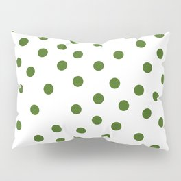 Simply Dots in Jungle Green Pillow Sham