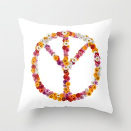 Protect the Earth Throw Pillow
