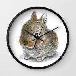 Rabbit 61 Cute bunny Wall Clock