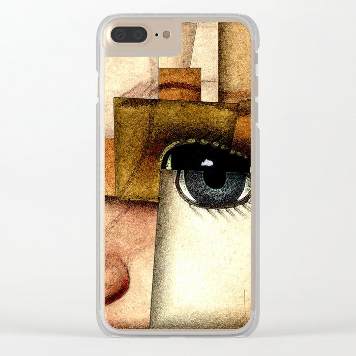 Puppet Show Clear iPhone Case