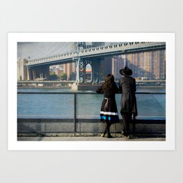 A View From Brooklyn Art Print