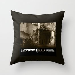 Where Are The Jobs Throw Pillow