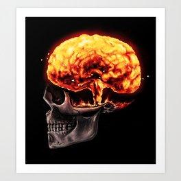 Mind Blown Art Print