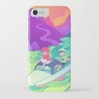 ponyo iPhone & iPod Cases featuring Ponyo by Jen Bartel
