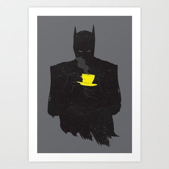 baTEAman Art Print