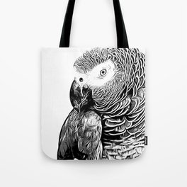 African Parrot Tote Bag