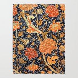 William Morris Cray Floral Art Nouveau Pattern Poster
