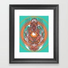 West Ganesh - Color Framed Art Print