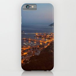 Salerno Cost, sea-side by night,  iPhone Case