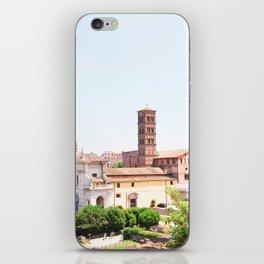 187. Forum Campanile, Rome iPhone Skin