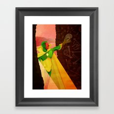 The Vision of Man Framed Art Print