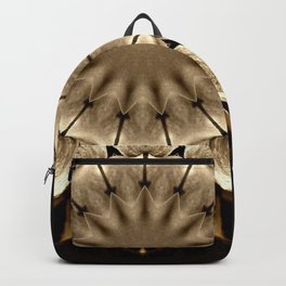 Abstract Sunflower Backpack