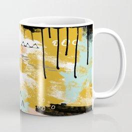 Presence of Life, Abstract Tribal Art Coffee Mug