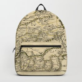 Map of India (1654) Backpack