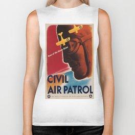 Vintage poster - Civil Air Patrol Biker Tank