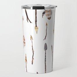 Boho Arrows with Feathers Travel Mug