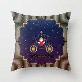 The Moonlight Parade-Queen Throw Pillow