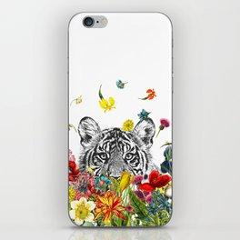 Happy Tiger iPhone Skin
