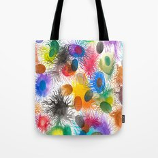 Caos Sincronizado Tote Bag