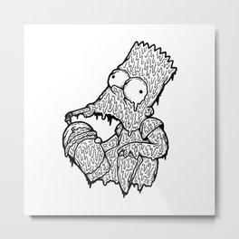 Slurp Metal Print