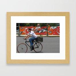 El D.F. Framed Art Print