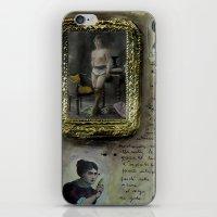musa iPhone & iPod Skins featuring LA MUSA VENALE by Luca Piccini