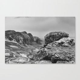 Vik i Myrdal Canvas Print