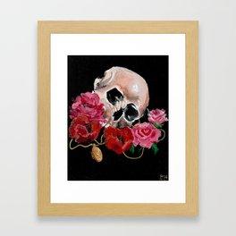Cherished dead Framed Art Print