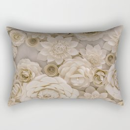 Paper Bouquet Rectangular Pillow